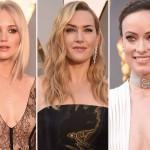 Oscary 2016: najlepsze makijaże i fryzury gwiazd