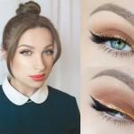 Makijaż na Wigilię krok po kroku