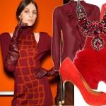 26 ubrań i dodatków w czerwonym kolorze na święta