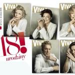 Aż 5 okładek nowej Vivy! Magazyn świętuje 18 urodziny