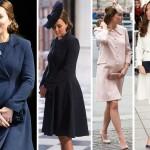 Stylowa mama, czyli ciążowe looki księżnej Kate