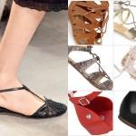 17 par najmodniejszych płaskich sandałów na wiosnę i lato 2015