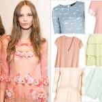 Kochamy to! Przegląd pastelowych sukienek na wiosnę 2015