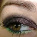 Nietypowy makijaż smoky eyes (video)