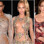 Niemal nagie Beyonce, Kim Kardashian i Jennifer Lopez na Gali Met 2015