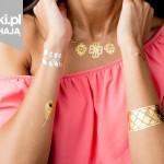 Światowy trend: metaliczne tatuaże