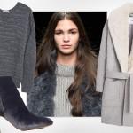 Bądź modna jesienią: szary total look prosto z wybiegu