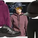 Kourtney Kardashian - jak na sportowo noszą się wielkie gwiazdy?