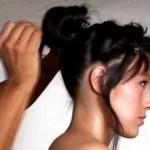 Wieczorowa fryzura (video)