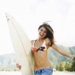 Makijaż surferki