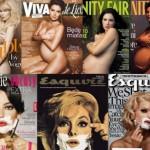Ciąża i golenie, czyli nuda stylizowanych okładek