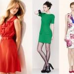 Sukienki i spódnice z kolekcji wiosna-lato 2012