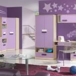 Gustowny pokój dla dzieci w wieku szkolnym