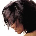 Włosy w kolorze gorzkiej czekolady