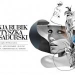 Anja Rubik w grafikach Tomka Sadurskiego