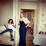 Joanna Kurowska z córką Zosią