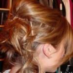 Fryzura dla włosów półdługich