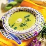 Zupa krem z cukinii ze szczypiorkiem