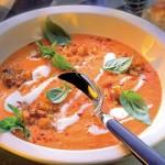 Aromatyczna zupa krem z papryki