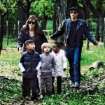 Angelina Jolie i Brad Pitt - Szczęście rodzinne