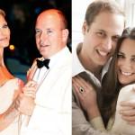 Charlene Wittstock i Kate Middleton - Prawie księżniczki