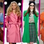 Modne, kolorowe kurtki i płaszczyki - wiosna 2011