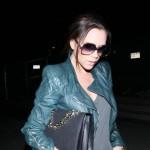 Ciężarna Victoria Beckham wróciła do Los Angeles