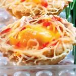 Jajka w babeczkach