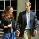 Kate Middleton i Książę William na pierwszym spacerze po ślubie