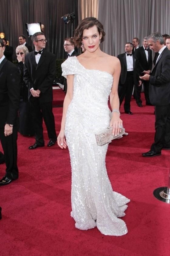 Białe suknie gwiazd