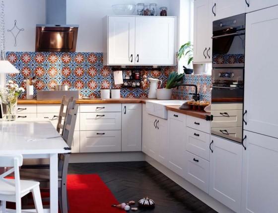 Kuchnia  Galeria zdjęcie -> Jasna Kuchnia Ikea