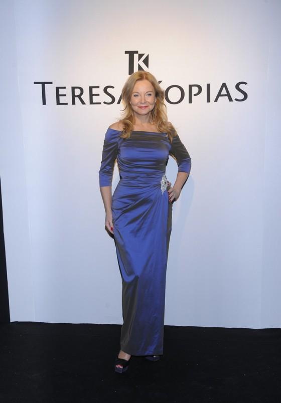 Gwiazdy na pokazie kolekcji Teresy Kopias