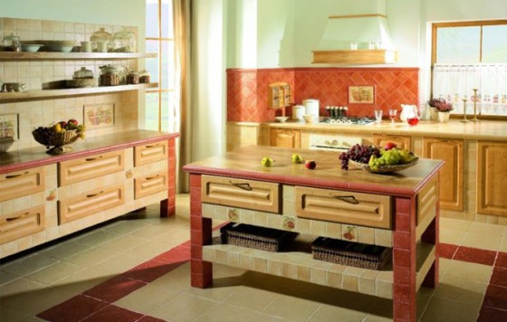 Kuchnia - unikalne wnętrze z marką Paradyż