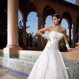 Koronki w sukniach ślubnych
