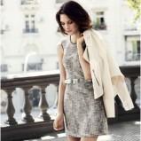 szara sukienka H&M  - trendy wiosna/lato 2013