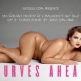 """Nadchodzi moda na krągłości - """"Curves Ahead"""" - sesja V Magazine"""