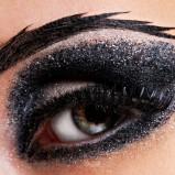 Makijaż wieczorowy oczu - karnawał