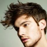 Modne fryzury męskie 2012