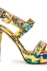 Kolekcja butów Dolce&Gabbana na wiosnę i lato 2012