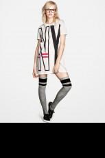 Ginta Lapina w październikowym lookbooku H&M