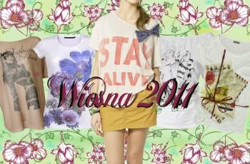 T-shirty na wiosnę i lato 2011 - Przegląd z We-Dwoje.pl