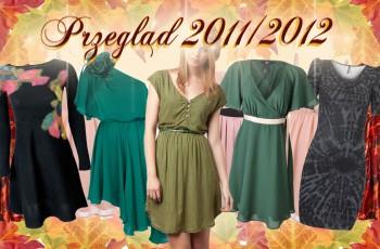 Sukienki na jesień-zimę 2011/2012