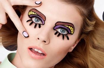 Obrysowane, kreskówkowe paznokcie – nie tylko na imprezę!