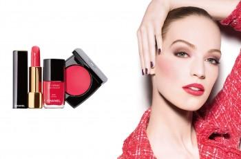 Wiosenny makijaż Chanel 2014
