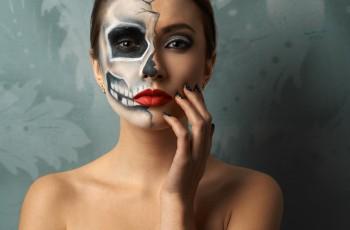 Makijaż Sugar Skull  - instrukcja!