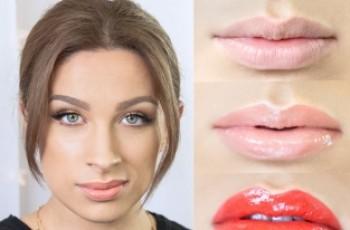 Makijaż dla małych ust krok po kroku