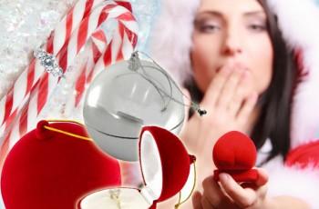 5 pomysłów na zaręczyny w święta!