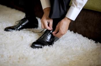 Podwyższające buty ślubne dla niskich Panów Młodych