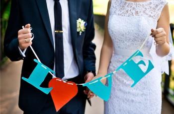 Modne dekoracje ślubne - trendy 2016