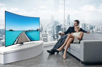 Modne zakrzywione telewizory